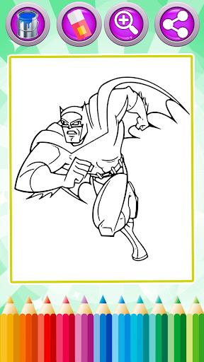 Superhero Coloring Book Games 1.3 screenshots 3