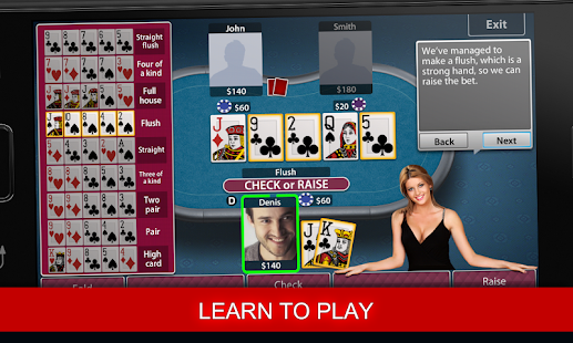 play poker and chat
