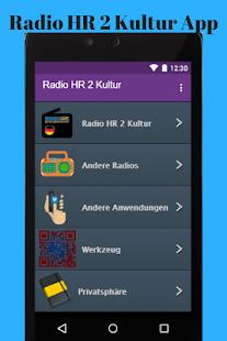 Radio HR 2 Kultur App - náhled