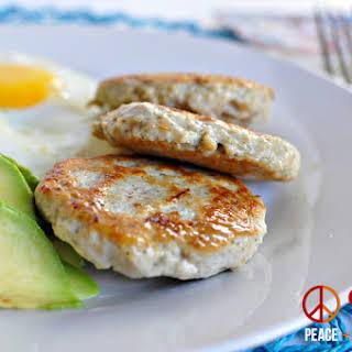 Maple Chicken Breakfast Sausage – Low Carb, Paleo, Gluten Free.