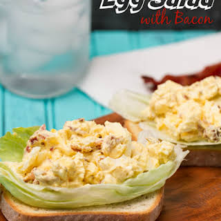 Egg Salad with Bacon.