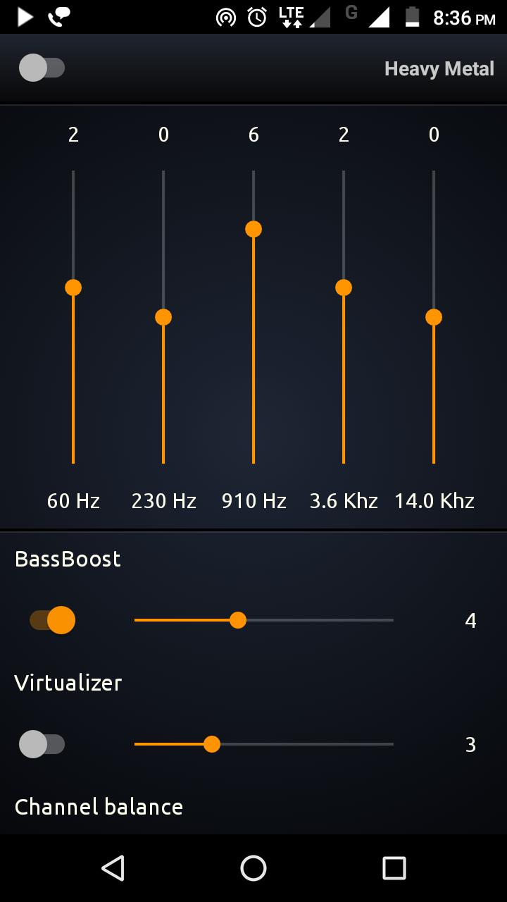 PowerAudio Pro Music Player Screenshot 2