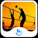 Hot Beach Volleyball Keyboard icon
