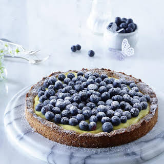 Blueberry Custard Tart.