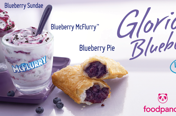 Terbaru dari Mcdonalds : Blueberry Cream Cheese Pie & Blueberry Sundae Pasti Memikat Selera.
