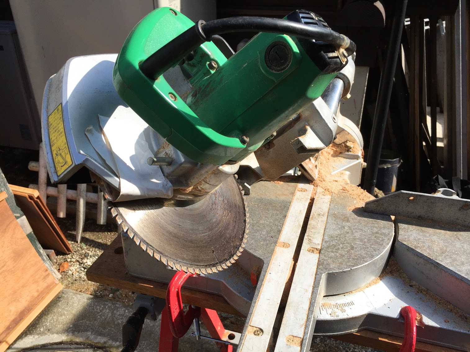HITACHI C 8FB Sliding Compound Miter Saw