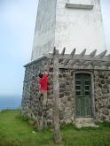 Mahatao Lighthouse climber