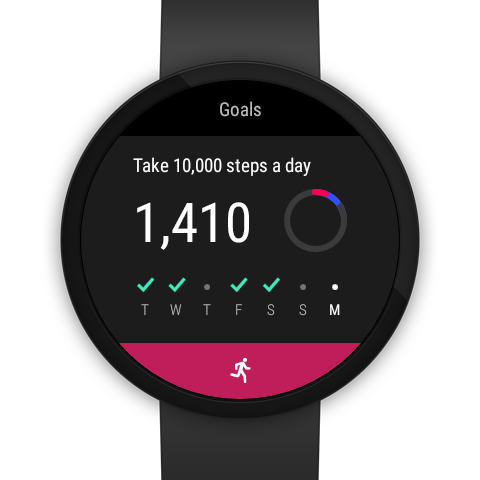 Screenshots of Google Fit - Fitness Tracking for iPhone