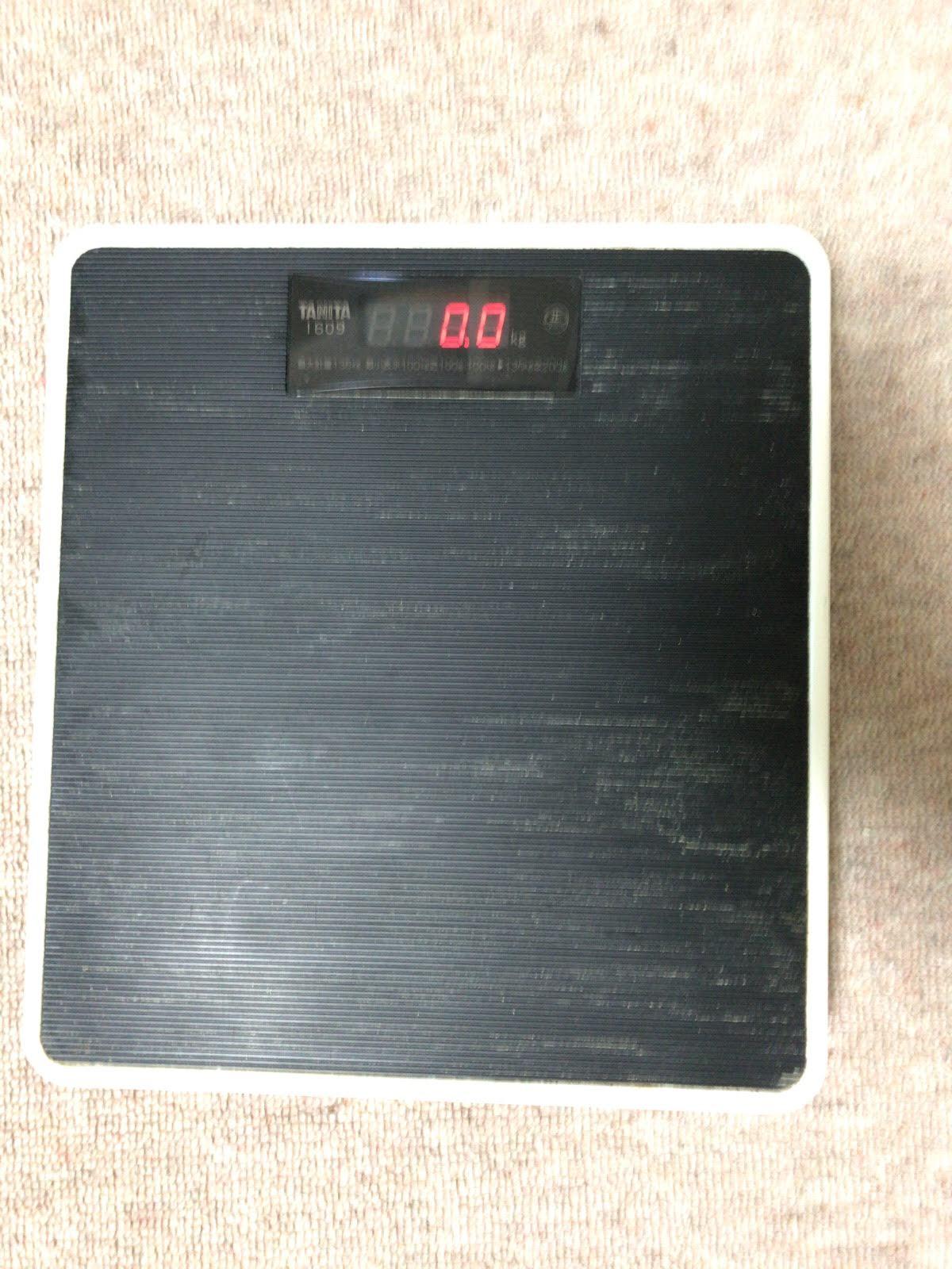 こんな「体重計」の断捨離でした。