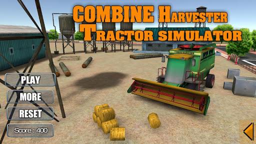Combine Harvester Tractor Sim