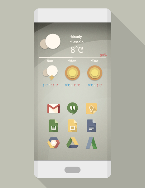 PHIX RETRO – ICON PACK v7.4