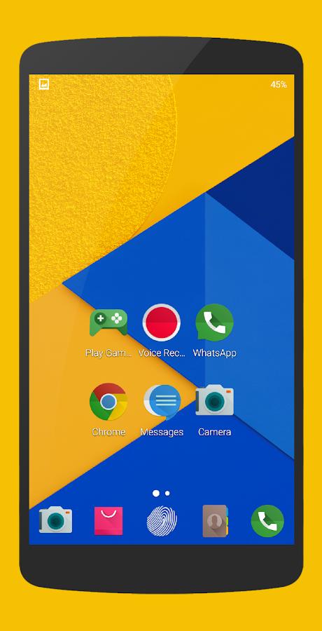 Marshmallow - Icon Pack- tangkapan layar