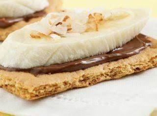 Chocolate-banana Grahams Recipe