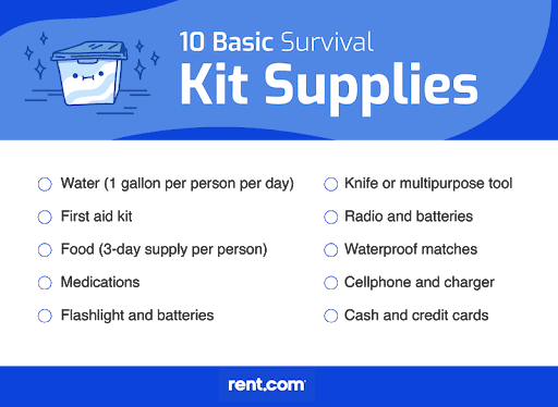 What to Pack in a 72-Hour Emergency Kit: Printable Checklist