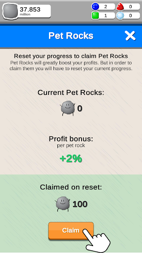 Rock Collector - Idle Clicker Game 2.0.3 screenshots 5