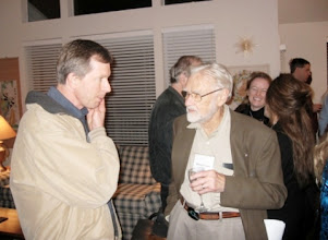 Photo: PROFESSORS DON HOFFMAN AND DUNCAN LUCE