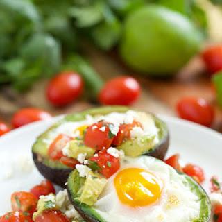 Mexican Baked Avocado Eggs