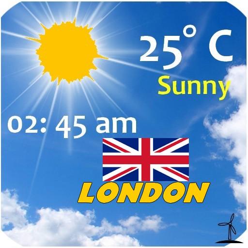 London Weather 天氣 App LOGO-APP開箱王