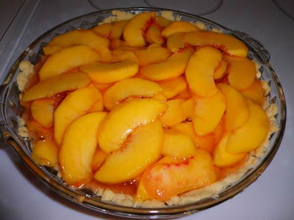 Fresh Peach Pie Recipe