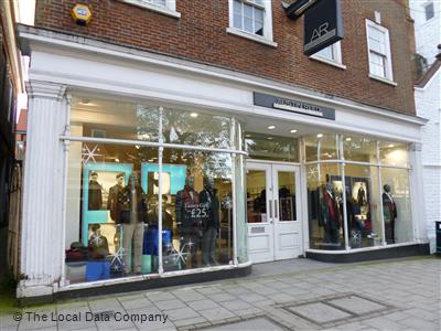 Austin Reed On High Street Fashion Shops In City Centre Guildford Gu1 3jd