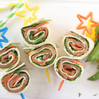 Smoked Salmon And Cream Cheese Pinwheels Recipes.