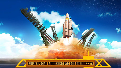 Space Station Building Game - Rocket Launch  screenshots 5