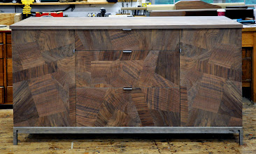 Photo: http://dorsetcustomfurniture.blogspot.com/2013/05/a-claro-walnut-sideboard.html