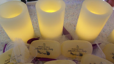 Photo: Original Give-aways Personalized Soap pieces for you Spa Party by