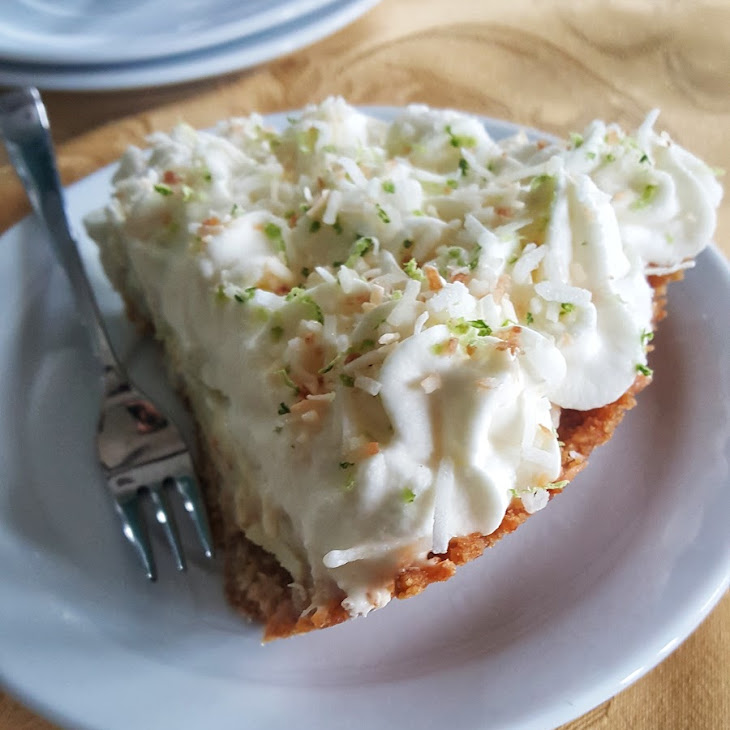 Toasted Coconut Lime Pie