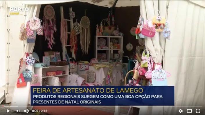 Vídeo - Feira de Artesanato de Lamego quer ser opção para a compra de prendas de Natal