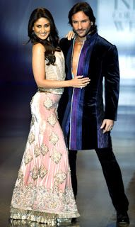 Hot Bollywood Jodi Saif Ali Khan and Kareena Kapoor