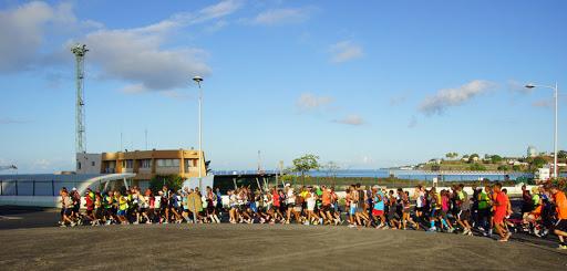 Semi Marathon de Fort de France 2015 avec une équipe au profit du Projet de L'Arche en Martinique