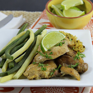 Sweet Citrus Slow Cooker Chicken Thighs.