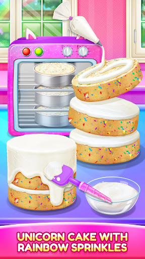 Unicorn Food - Cake Bakery 2.1 Screenshots 4