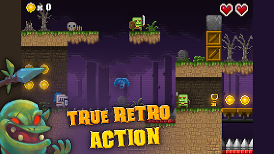 To The Castle:Retro platformer- screenshot thumbnail