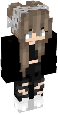 Cute Girl Nova Skin - Nova skins fur minecraft
