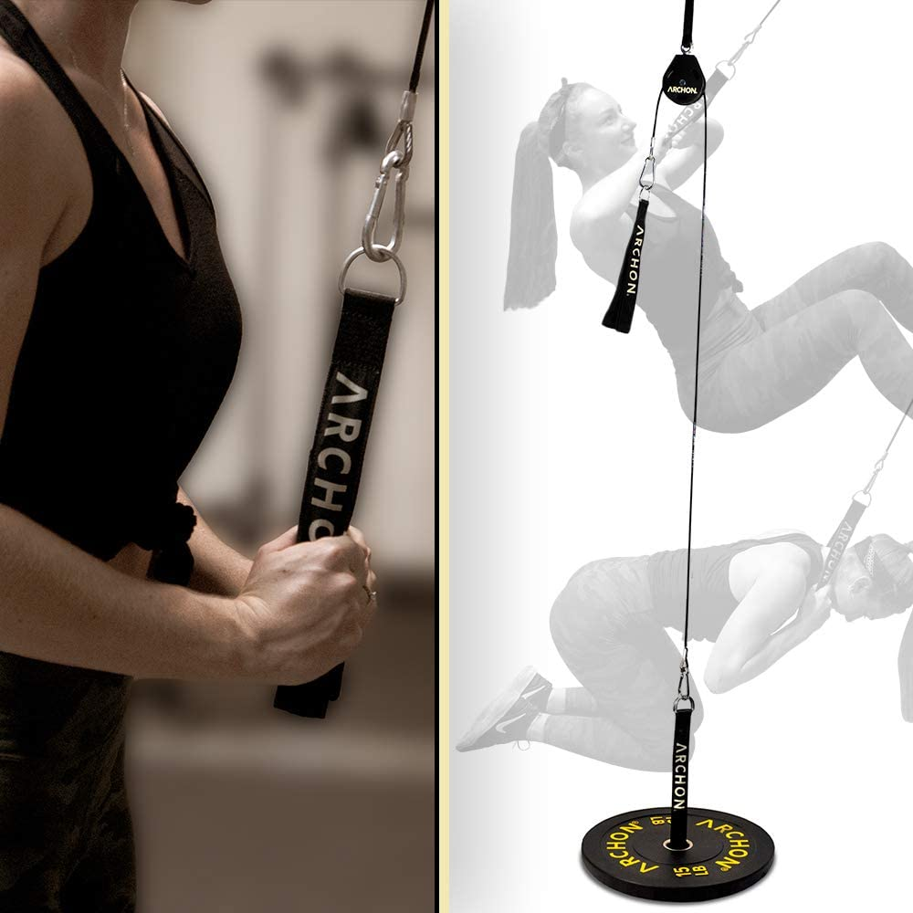 ARCHON Fitness Single Pulley Cable Station which is more durable, sturdy and versatile