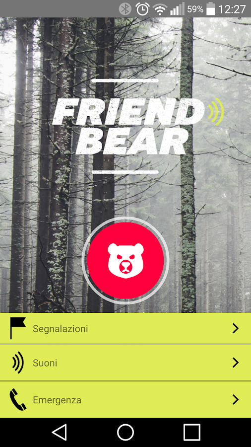Friend Bear- screenshot