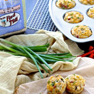 Savory Oatmeal Breakfast Muffins (Gluten Free)