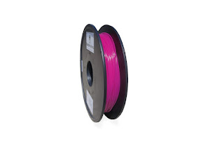 UV Light Color Changing White to Red PLA - 1.75mm (0.5 Kg) *Clearance Item*
