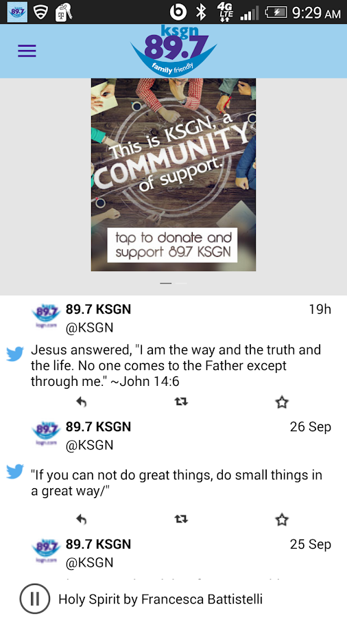 Family Friendly 89.7 KSGN- screenshot