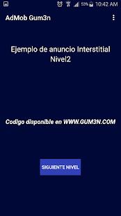 GUM3N Ads Por AdMob - náhled