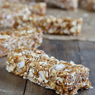 No Bake Gluten Free Granola Bars.