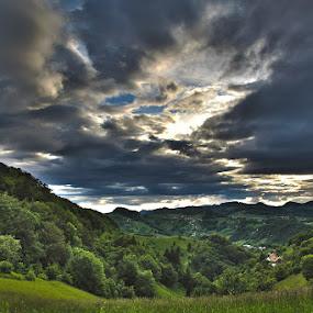 Kalobje by Lucija Janša - Landscapes Mountains & Hills