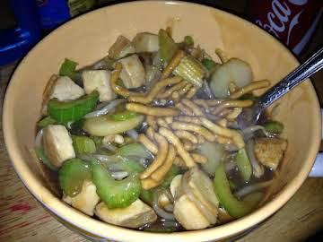 Super Simple Chicken Chow Mein