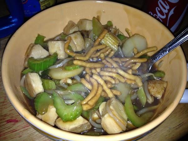 Super Simple Chicken Chow Mein Recipe