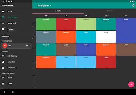 Schulplaner - Hausaufgaben & Stundenplan Screenshot