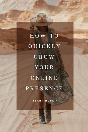 Grow Your Presence - Pinterest Pin template