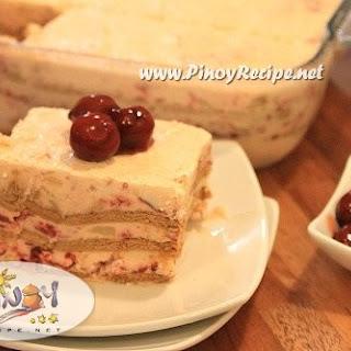 Pineapple Cherry Icebox Cake.