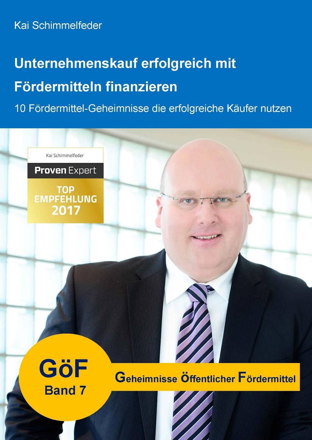 GöF 7 - Unternehmenskauf erfolgreich finanzieren